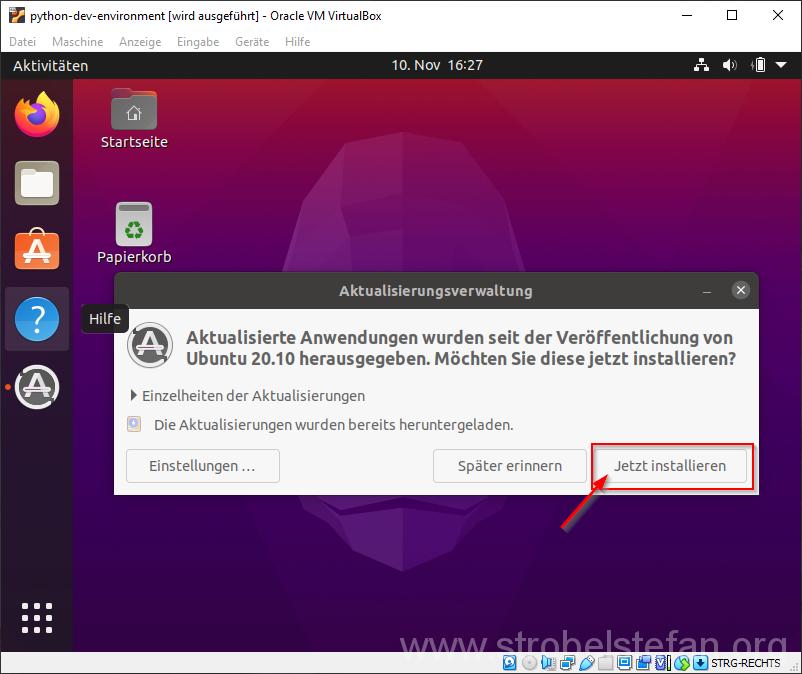Ubuntu aktualisieren