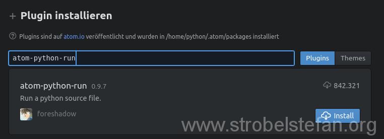 atom-python-run