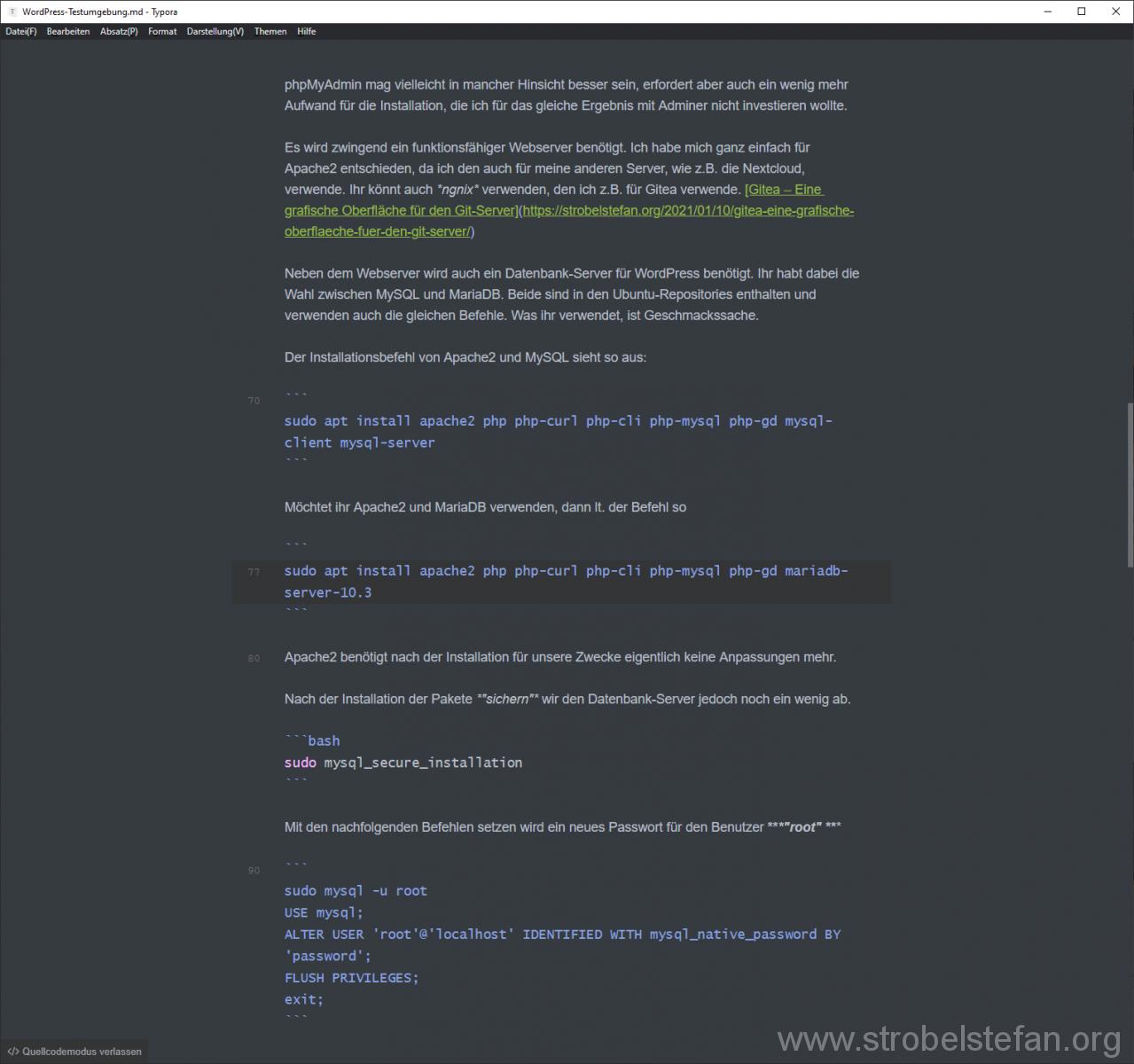 Typora - a markdown editor, markdown reader
