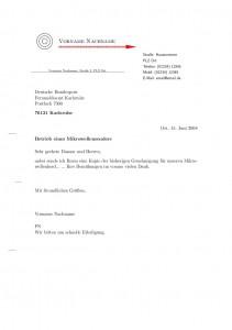 LaTeX-Brief