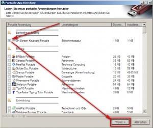 PortableApps - Anwendungen installieren