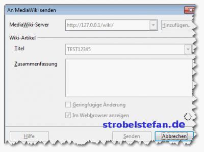 Mediawiki mit LibreOffice