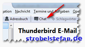 Thunderbird und der Chat