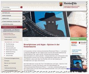 Smartphones und Apps - Spione in der Hosentasche