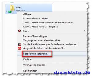 Windows - Netzlaufwerk verbinden ...
