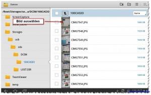 Foto Slide Show vom USB-Stick