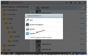 Foto Slide Show vom USB-Stick mit QuickPic