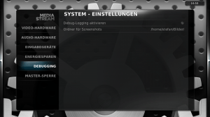 XBMC - Screenshot