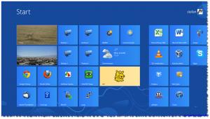 Windows 8 Pro - Start Screen