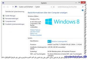 Windows 8 Pro auf DELL Latitude E6420