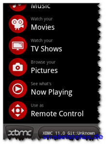 XBMC for Android