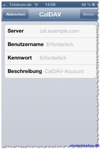 Google Kalender und das iPhone
