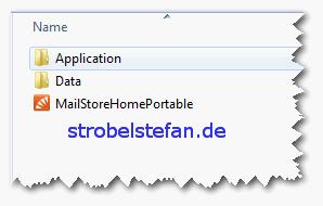 MailStore - Installationsverzeichnis