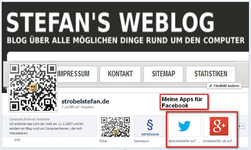 Apps für Facebook