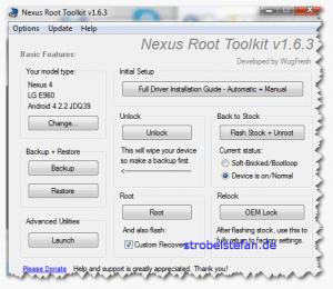 Google Nexus 4 - Rooten