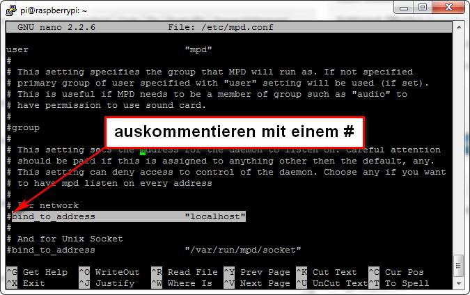 MPD-Server