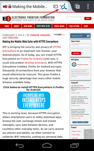 HTTPS Everywhere für Android