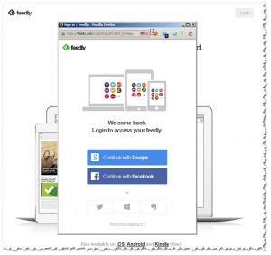 Feedly - Login