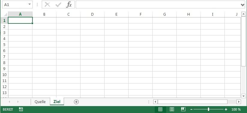Nur bestimmte Werte in neues Tabellenblatt kopieren « Stefan\'s Weblog