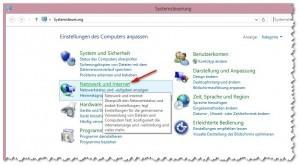 Windows 8 - Netzwerkeinstellungen anpassen