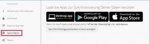 Nextcloud - Sync-Clients