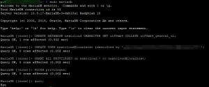 MariaDB - Nextcloud-Datenbank anlegen