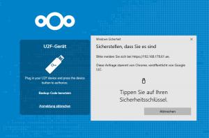 Nextcloud - U2F