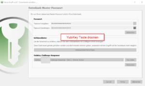 YubiKey mit KeePassXC verbinden