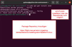 Installation aus Repositories schlägt fehl