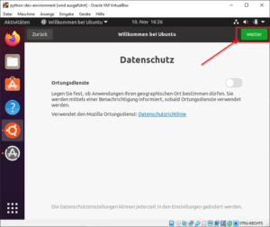 Ubuntu konfigurieren