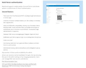 FIDO2 and WebAuthn compatibility