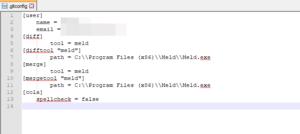 Windows - .gitconfig