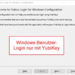 YubiKey 12 - Benutzer-Anmeldung an Windows nur mit einem YubiKey erlauben