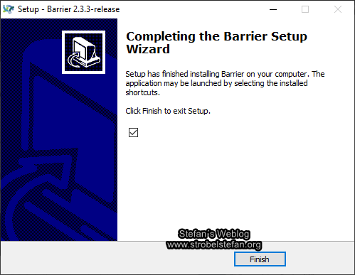 Barrier - Installation