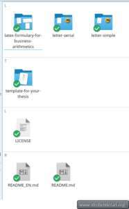 Dolphin - Git Icon Overlays